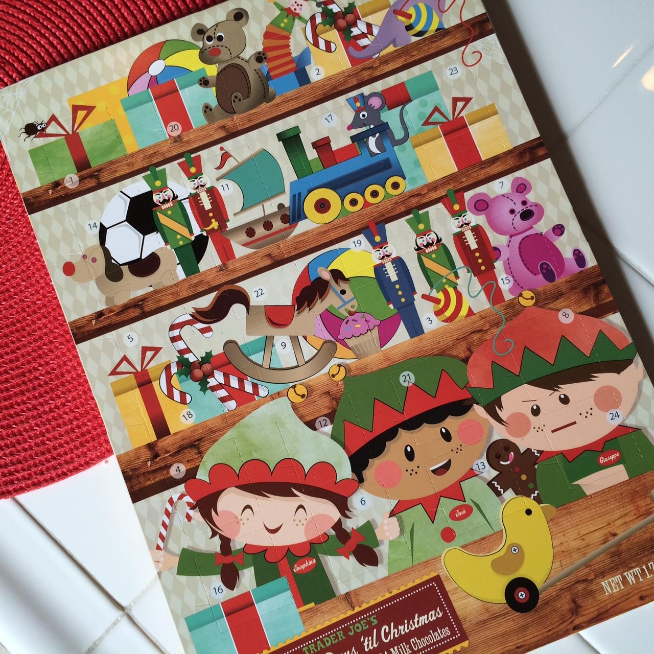 Dairy-free Chocolate Advent Calendar   Emma Lesko