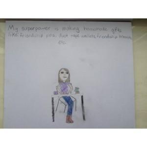 Corinne, age 9
