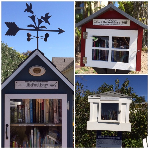 Some local Little Free Libraries - Super Lexi's inside!