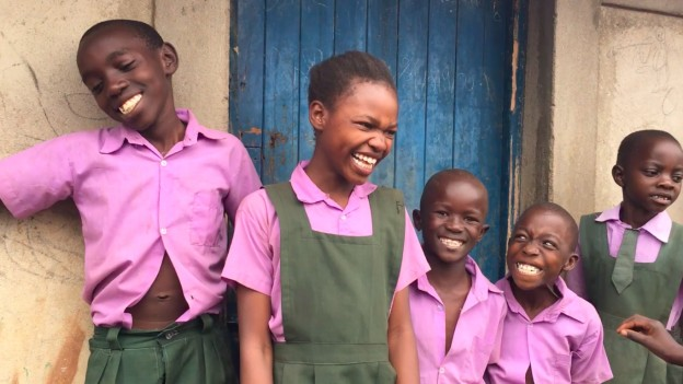 Lots of joy at the Kids for Peace School of Kenya!
